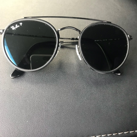 4c292ec21a1 Ray-Ban round double bridge sunglasses. M 5a95c0afb7f72bf01950405f